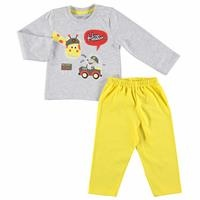 Slim Long Sleeve Pyjamas Set
