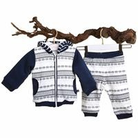 Dino Baby Welsoft Cardigan Trousers Set