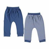 Camping Interlock Baby Footless Pants 2 pcs