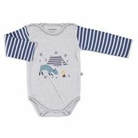 Camping Interlock Baby Long Sleeve Bodysuit
