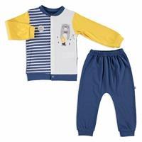 Camping Interlock Baby Sweatshirt Trousers 2 pcs