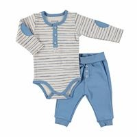 Puppy Theme Baby Bodysuit Trouser 2 Pack Set