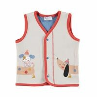 Puppy Theme Baby Snap Vest