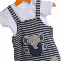 Elephant Printed Baby Boy Jumpsuit Romper