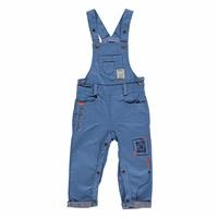Colored Embroidered Baby Boy Dungarees