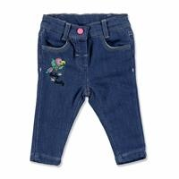 Flamingo Embroidered Cotton Baby Pants