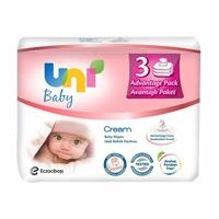 Cream Wet Wipes 3x56 pcs