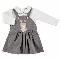 Rabbit Texture Baby Jumper Sweatshirt Set