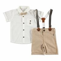 Summer Baby Boy Royal Shirt Short 2 pcs Set