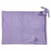 Dog Plush Baby Blanket Brown 80x100 cm