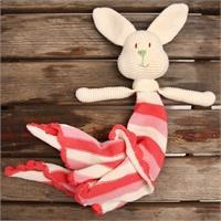Amigurumi Rabbit Hanky - Baby Girl
