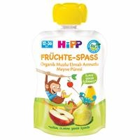 Organic with Pear Banana Apple Fruits 90 gr