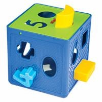 Entertaining Shape Sorter Cube