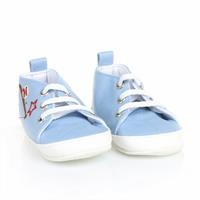 Flower Linen Baby Shoes