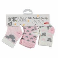 Bebek 3 Lü Çorap