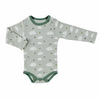 Scout Bear Baby Boy Long Sleeve Snaps Neck Bodysuit
