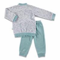 Bebek Kartanesi Baskılı Kadife Pijama Takımı