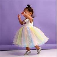 Unicorn Baby Girl Sleeveless Dress