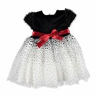 Belt Detail Baby Girl Dress
