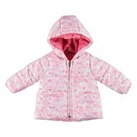 Baby Girl Cupcake Water Repellent Coat