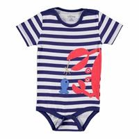 Baby Boy Summer Short Sleeve Bodysuit