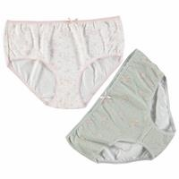 High Waist Cotton Panties 2 pcs