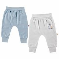 Jacquard Baby Boy Footless Trousers 2 pcs