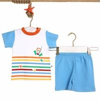 Colored Printed Baby Boy Tshirt Short