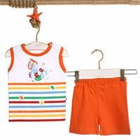 Colored Printed Baby Boy Athlete Short