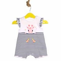 Striped Baby Girl Dress Bodysuit