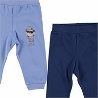 Baby Boy Footless Trousers 2 Pack