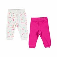 Baby Footless Trousers 2 Pack