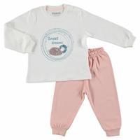 Bebek Uzun Kollu Pijama Takımı