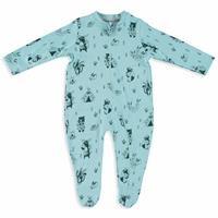 Printed Baby Long Sleeve Romper