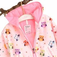 Baby Bird Printed Water Repellent Children Raincoat