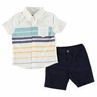 Baby Boy Mediterranean Spirit Sleeveless Top Shorts Set