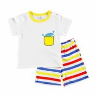 Baby Boy Fun Summer Tshirt Short Set
