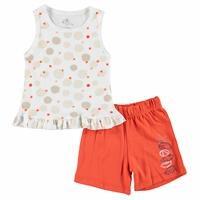 Mediterranean Spirit Baby Girl Shirt Shorts Set