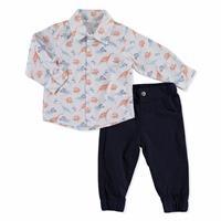 Baby Dino Shirt Pant Set