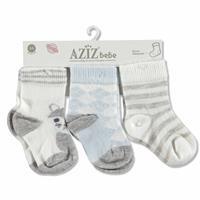 Cotton Baby Socks 3 pcs