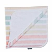 Cotton Baby Towel Blue Striped