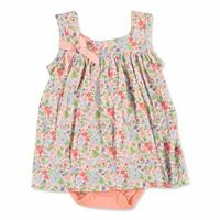 Tropical Summer Baby Girl Dress Bodysuit