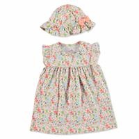Tropical Summer Baby Girl Dress Hat
