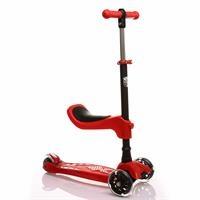 Oturaklı Scooter Kırmızı