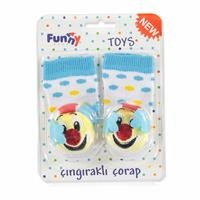 Funny Rattle Baby Socks