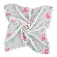 Dino Muslin Multipurpose Baby Blanket