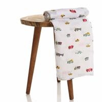 Vehicles Muslin Baby Multipurpose Blanket