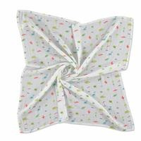 Alligator Patterned Muslin Baby Multipurpose Blanket