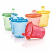 Colored Baby Cups Set 210 ml 6 pcs
