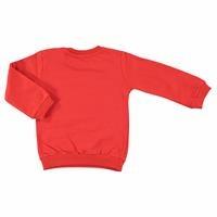 Bebek Baskılı Basic Uzun Kollu Sweatshirt